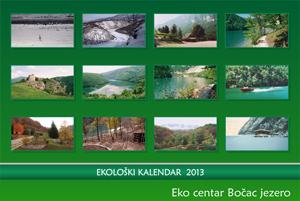 Eko centar Bočac jezero - kalendar za 2013. god.