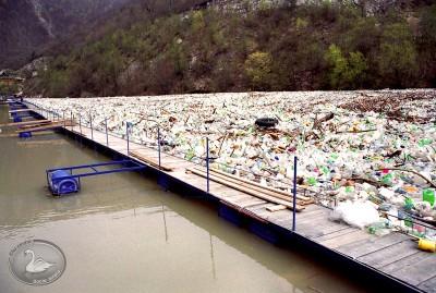 Zaštitna mreža na rijeci Vrbas