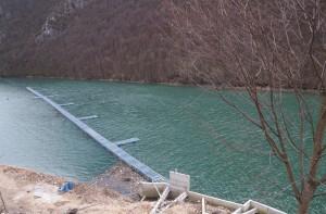 Zaštitna mreža na jezeru Bočac - 15.03.2014.