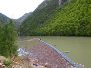 Zaštitna mreža na jezeru Bočac - 21.04.2014.