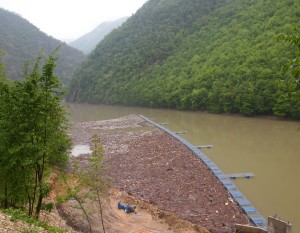 Zaštitna mreža na jezeru Bočac - 26.04.2014.